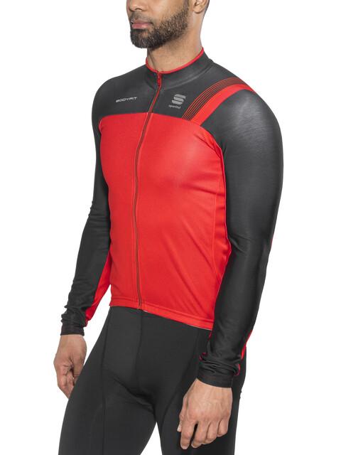 Sportful Bodyfit Pro Thermal Jersey Men red/black/fire red